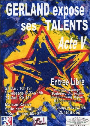 Gerland expose ses talents
